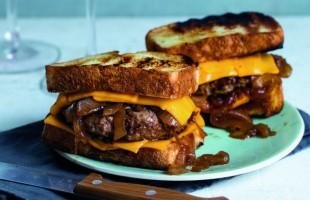 Na culinária, Patty melt (sanduíche de hambúrguer)