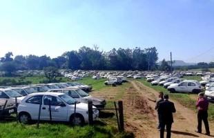 Diretoria da Emater/RS solicita leilão de 296 carros penhorados