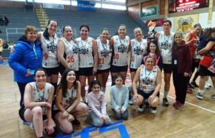Caxias Basquete Feminino/Recreio da Juventude é a campeã do naipe feminino dos Jogos Abertos de Basquete
