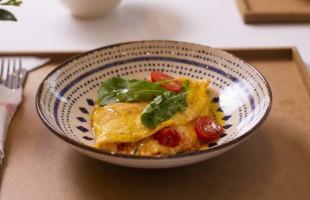 Na culinária, Omelete fofinha