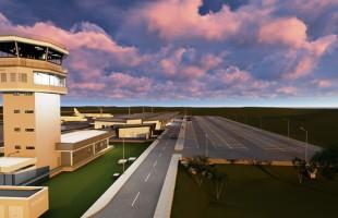 Prefeito protocola no Legislativo projeto de lei para garantir valor de desapropriações para o novo aeroporto