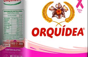 Orquídea aumenta em 10% os pontos de vendas com campanha do Outubro Rosa