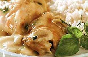 Na culinária, Fricassê de frango
