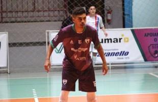 Futsal | BGF renova contrato com o pivô Pacheco