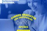 Para tornar o período de quarentena mais produtivo, UniCesumar oferece mais de 70 cursos gratuitos na modalidade EAD