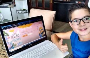 Pais e alunos da Rede Municipal aprovam atividades pedagógicas da Smed