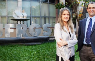 Carlos Bulhões e Patricia Pranke iniciam campanha à reitoria da UFRGS