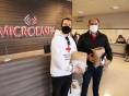 Microempa doa 900 máscaras para Cruz Vermelha e Lar da Velhice São Francisco de Assis de Caxias do Sul