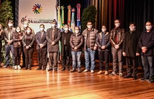 Na UCS   Comitê Plural de organização da 24ª Surdolimpíadas de Verão é inaugurado em Caxias do Sul