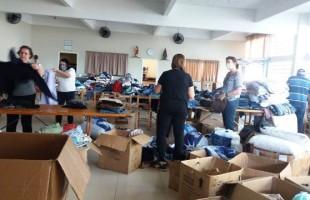 Havan faz doações para atingidos pela cheia em Estrela