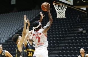 Em jogo com prorrogação, KTO/Caxias basquete perde para o Mogi