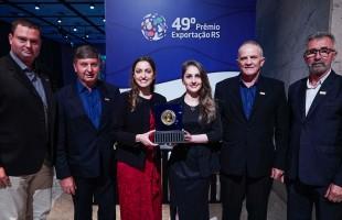Pelo sexto ano seguido, Vinícola Aurora conquista o Destaque Setorial de Bebidas no Prêmio Exportação RS