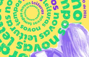 Identidade visual da Feira do Livro de Bento Gonçalves, desenvolvida por alunos da UCS, tem cartazes em estilo lambe-lambe