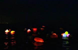 Desafio a Nado Noturno 3,2 Km Ilha das Pedras – Projeto Nadando Pelos Cartões Postais