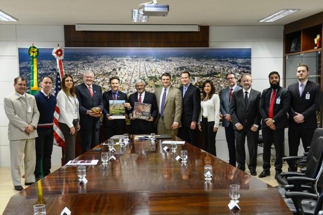 Foto Acervo prefeitura / Petter Campagna Kunrath (ato de assinatura do termo de cooperação das cidades-irmãs no ano passado)