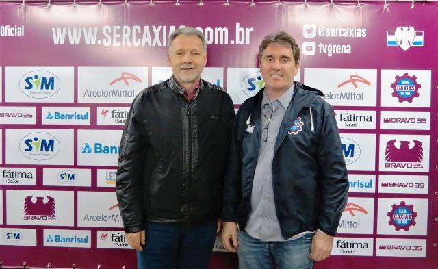 Vitacir Pellin e Roberto Delazzeri (Foto Vitor Soccol)
