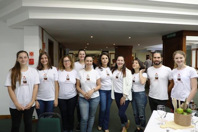 Parte da comissão de voluntários da II edição Foto Cleiton Thiele