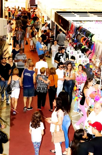 Visitantes conferiram mais de 100 expositores, assistiram a shows e apresentações culturais e participaram de programações esportivas. Crédito: Ivane Costella Bissani
