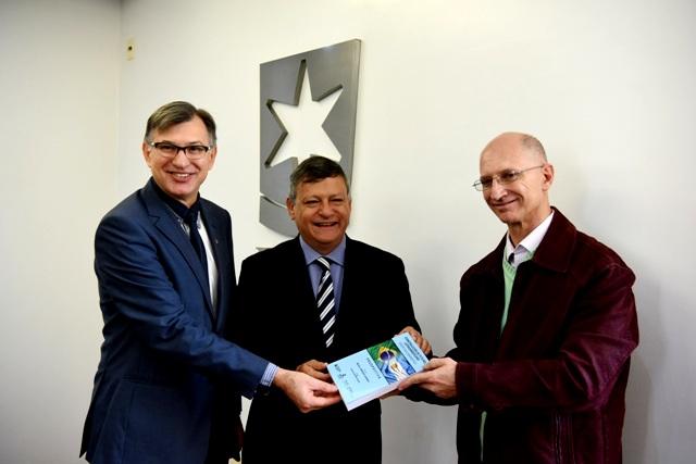 Evaldo Antonio Kuiava, Oscar Domingo Peppo e Miguel Armando Garrido