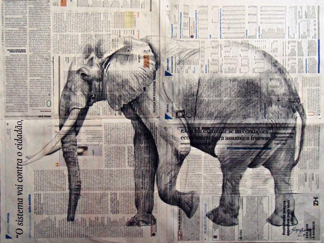 Elefante andante