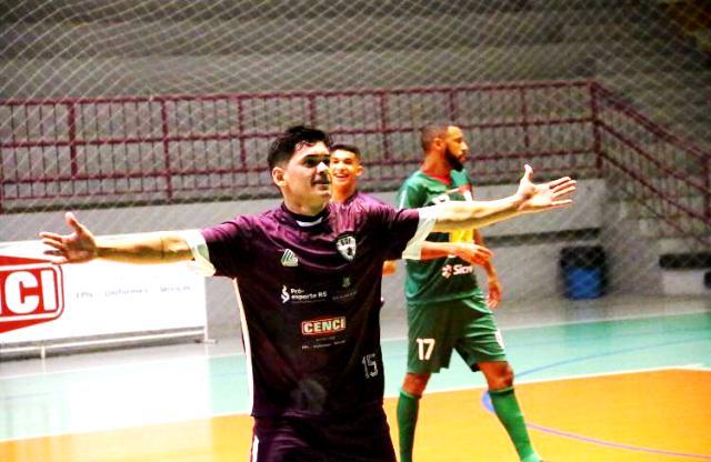Kevin comemora o gol - Foto Ativa Assessoria