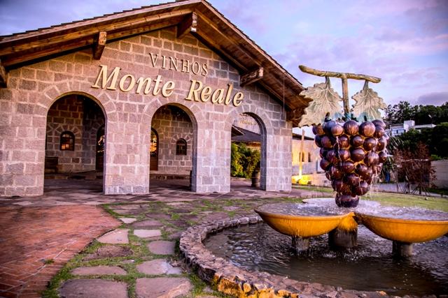 Vinícola Monte Reale fica cerca de 15 minutos de Caxias do Sul (RS) Crédito: Divulgação