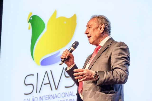Presidente da ABPA Francisco Turra - SIAVS 2017 (Foto Alf Ribeiro)