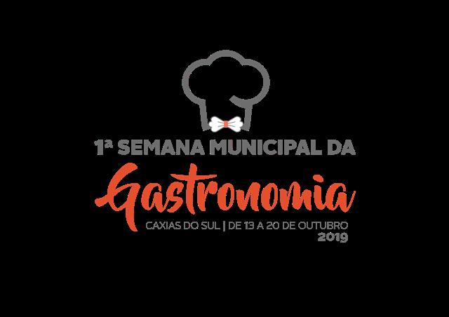 logo Semana Municipal da Gastronomia