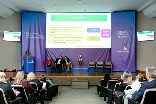 Evento reuniu profissionais da área médica, assistencial e farmacêutica que trabalham com pacientes com câncer.