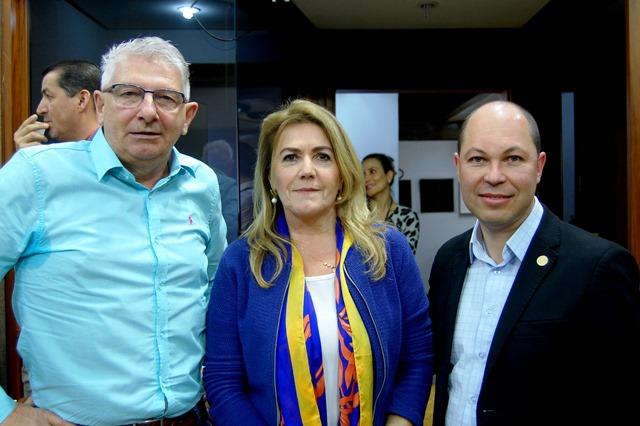 A comissão ficou assim constituída: Alceu Thomé/PTB, Presidente, Paula Ioris/PSDB (relatora) e Elisandro Fiuza/Republicanos (revisor). - Foto Laudir Dutra