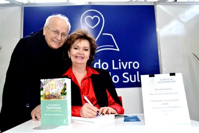 Na foto, Marisa e marido Vison - Arquivo Pessoal