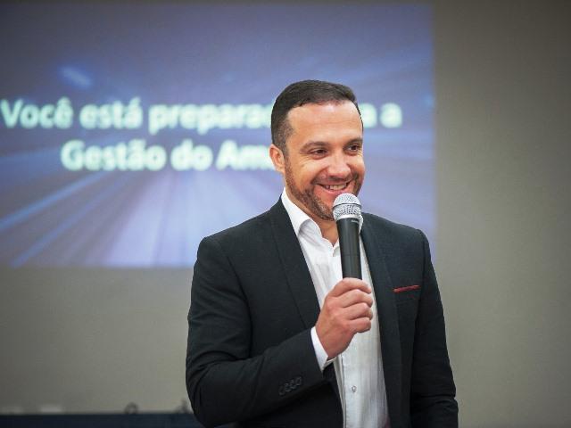 O diretor-executivo da Prolar e presidente da ABMI, Fernando Gonçalves do Reis, assume a presidência da ADCE Caxias do Sul na Gestão 2020 Crédito: Eduardo Branco Kickhöfel