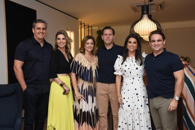 Beto Santos, Thaysa Flor, Julliana Galiza, Erika Raposo, Renato Raposo