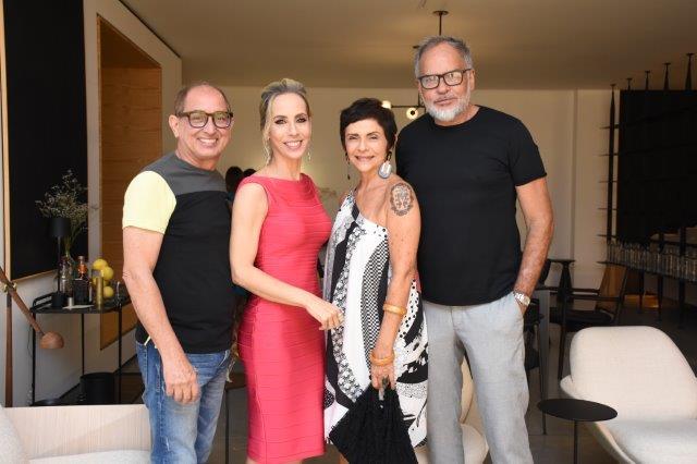 Cezar Revoredo, Clarissa Alves, Mezia Araújo, Renato Telles
