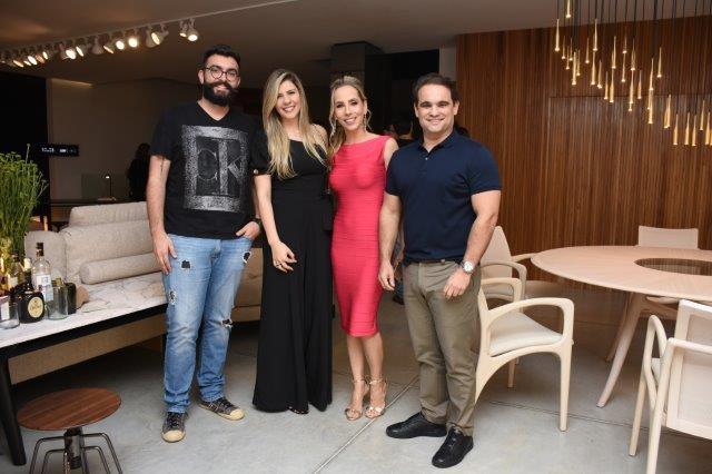 Rodrigo Gurgel, Rita Gurgel, Clarissa Alves, Renato Raposo