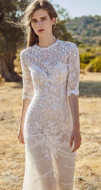 Costarellos Herbst 2020 Brautkleider