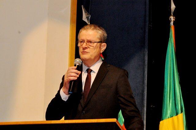 O prefeito eleito Flávio Guido Cassina fala pela primeira vez ao caxienses. - Foto Laudir Dutra