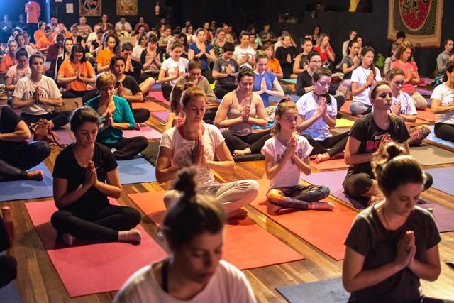 Yoga pela Paz 2019 - Divulgação