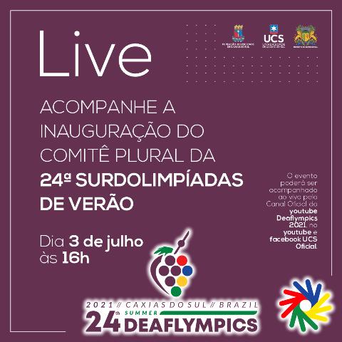 24ª Surdolimpiadas 2021 - LIVE