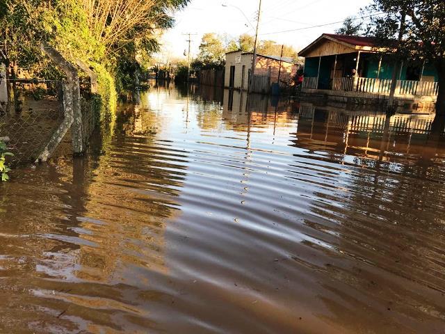 Enchente Ilha Grande dos Marinheiros (1)