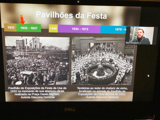 O mestre em história Mario Tomazzoni, Divulgação/Festa da Uva