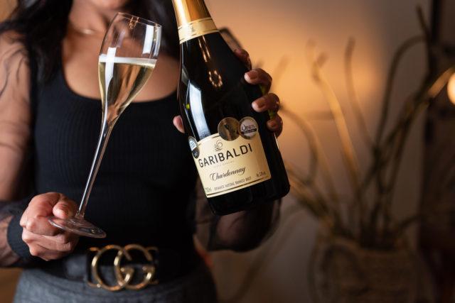Espumante Chardonnay - Crédito Daniela Radavelli