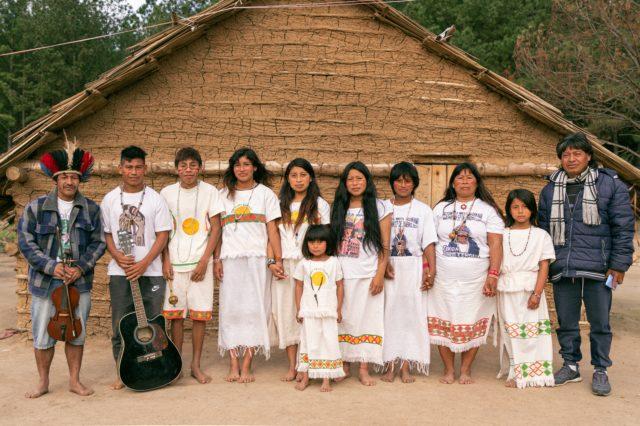 Grupo Teko Guarani - Crédito Igor da Rosa Grösz